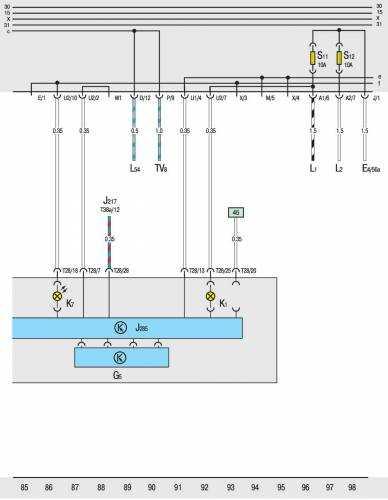 Схема электрооборудования транспортер т4 какие диски подходят на фольксваген транспортер т4