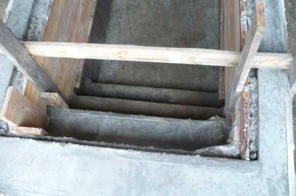 Залить яму бетоном подрозетники по бетону