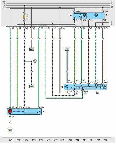 схемы электрооборудования транспортер т3
