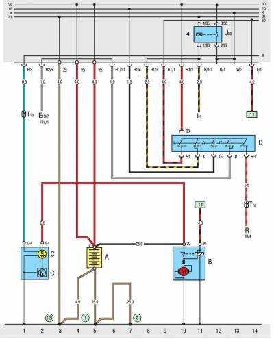 Схемы электрооборудования транспортер т3 звуковой сигнал на фольксваген транспортер т5